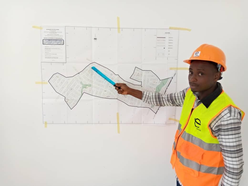 Plan de masse - belle rive terrain yamoussoukro
